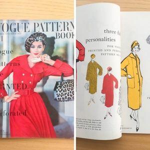 Vintage Vogue Pattern Book - Oct / Nov 1957